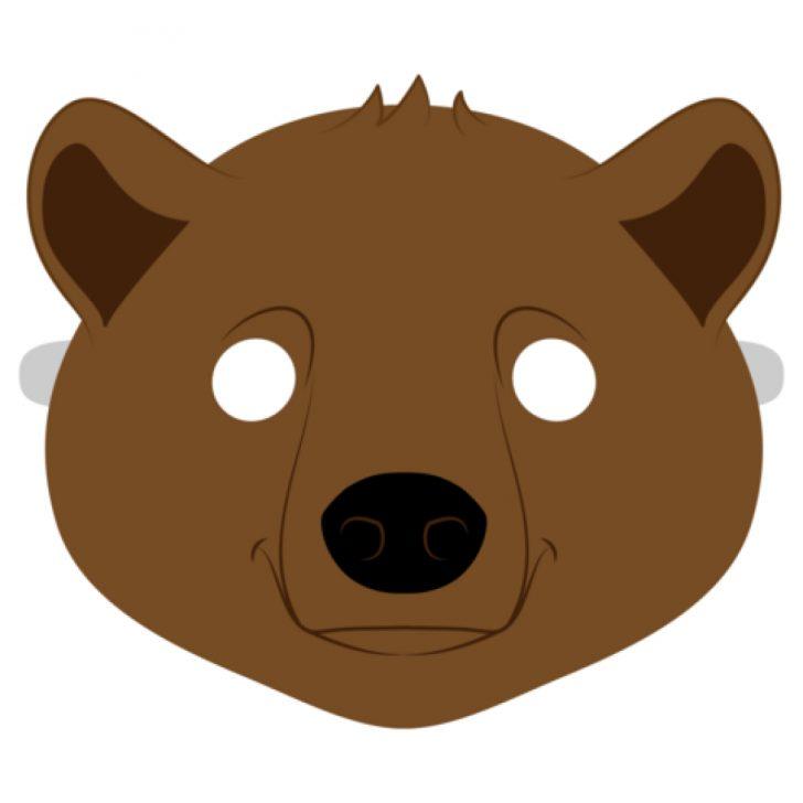 Free Printable Bear Mask