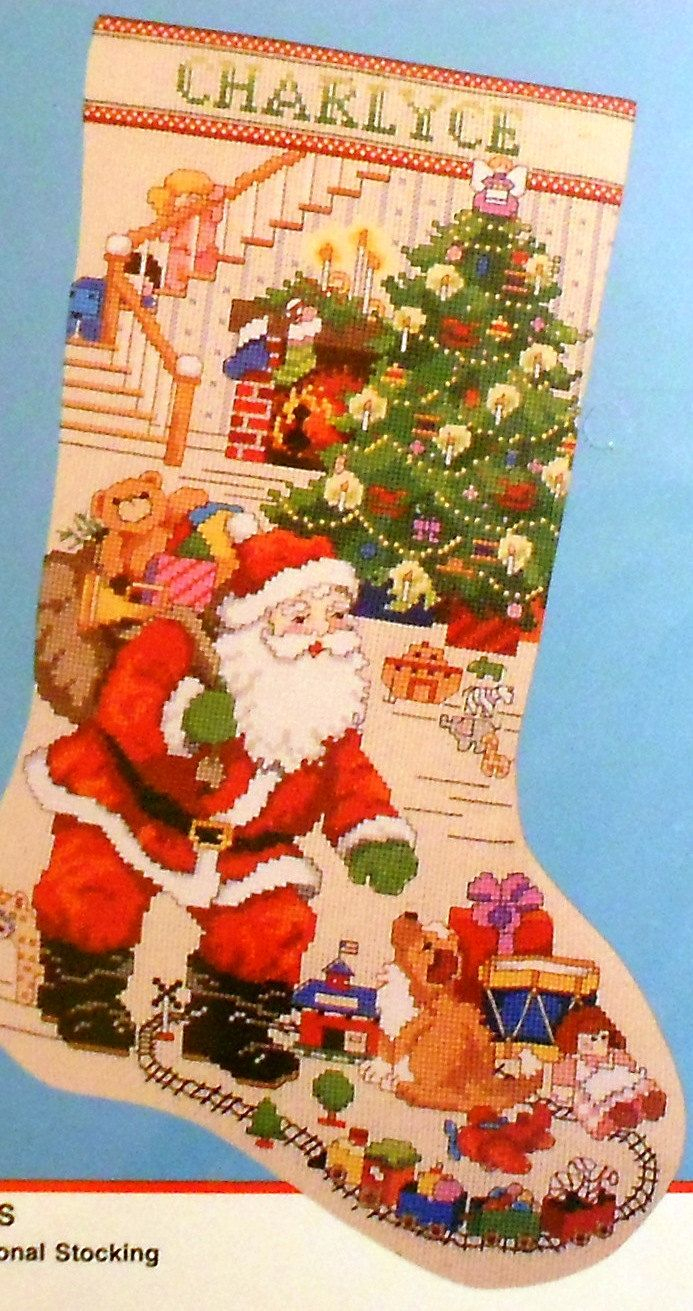 Bucilla The Best Of Christmas Stocking - Counted Cross Stitch - Free Printable Cross Stitch Christmas Stocking Patterns