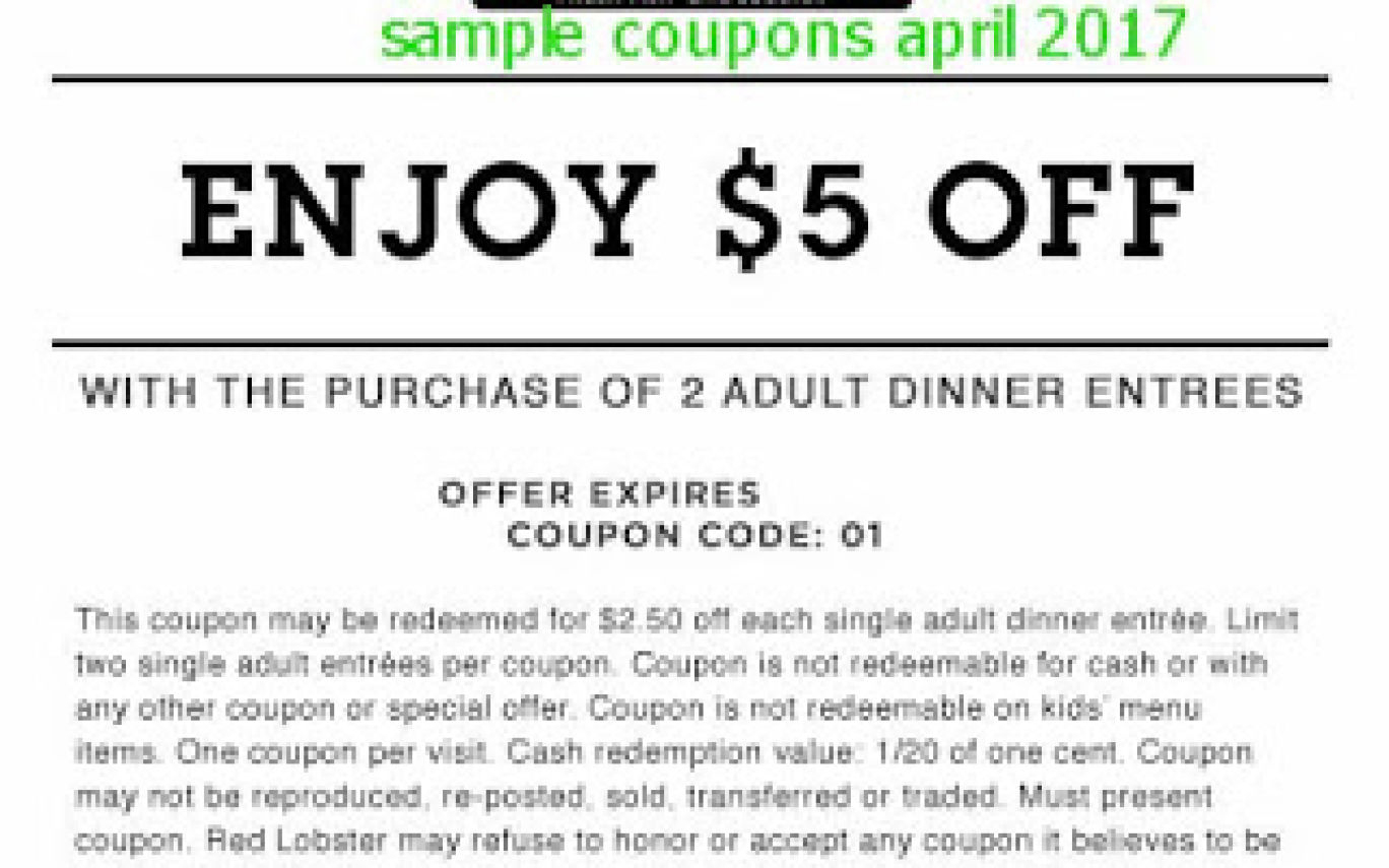 Burberry Discount Coupons / Coupons For Red Lobster | Hot Trending Now - Free Printable Red Lobster Coupons