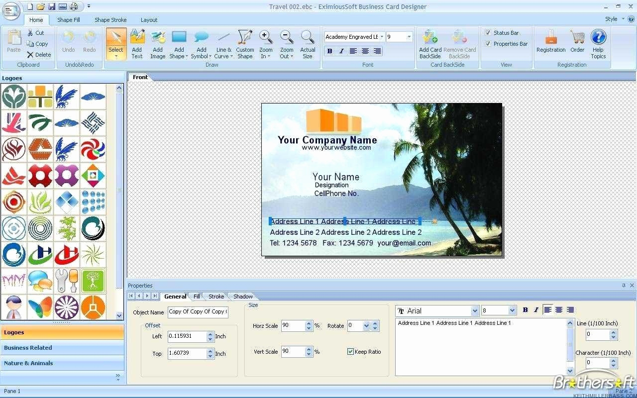 Business Card Maker Printable Unique Free Printable Business Card - Free Printable Business Card Maker