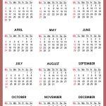 Calendar For 2017 Printable   Printable Calendar & Birthday Cards   Free 2017 Printable