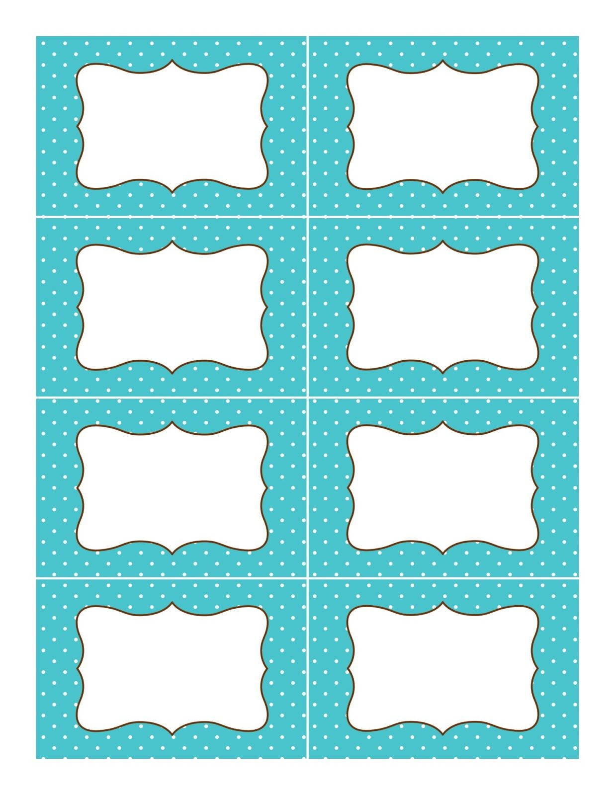 Candy Buffet Supplies: Free Printable Labels   Organization - Free Editable Printable Labels