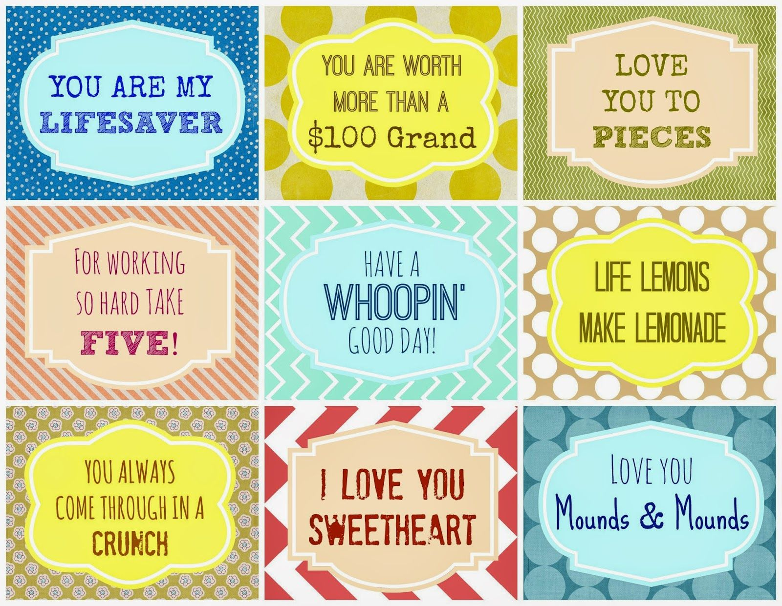 Candy Grams {Free Printable}   Spp   Pinterest   Candy Grams, Candy - Free Printable Lifesaver Tags