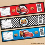 Cars Bottle Labels Free Printable Disney Cars Lightning Mcqueen   Free Printable Cars Water Bottle Labels