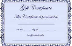 Free Printable Tattoo Gift Certificates