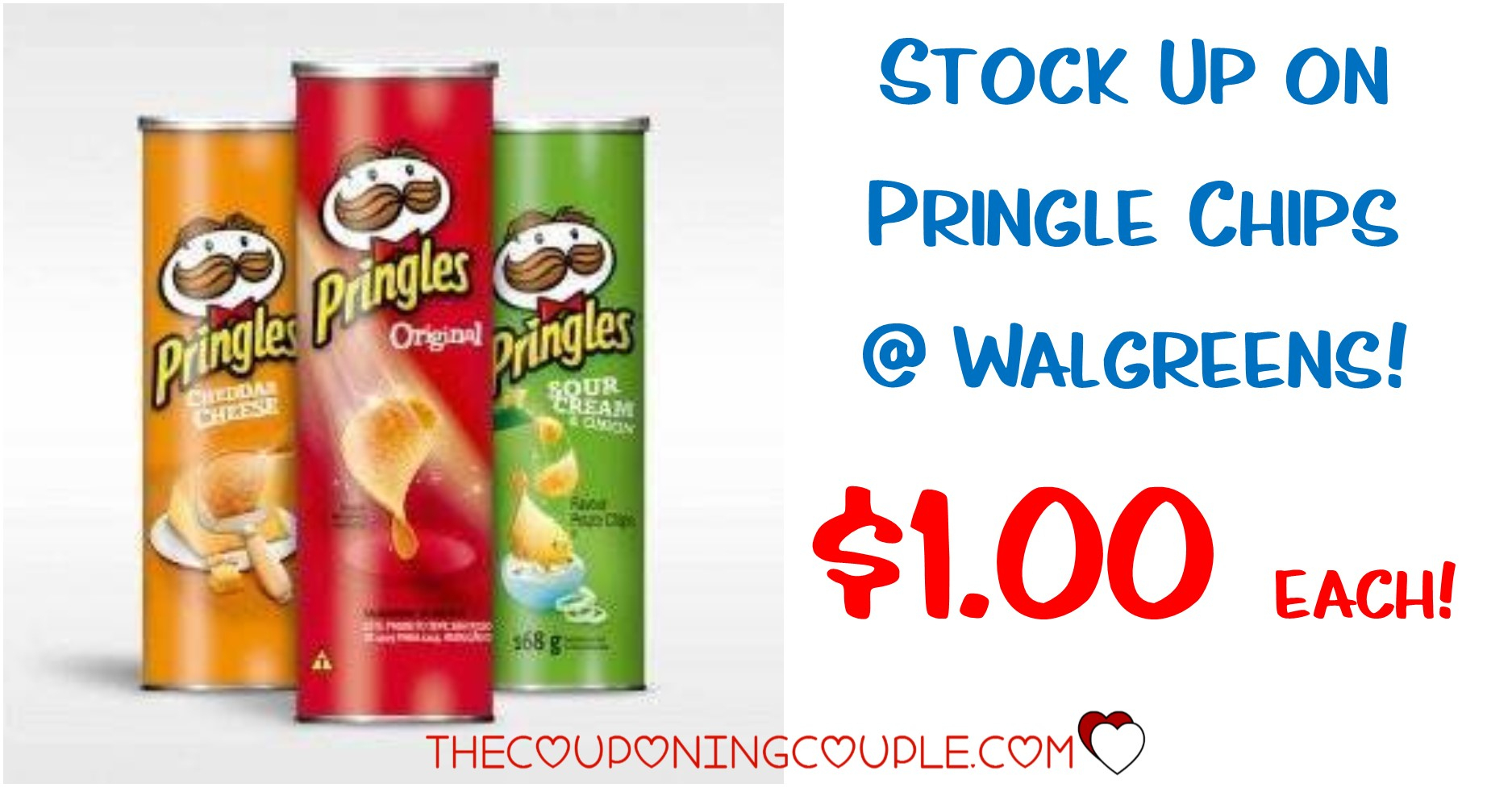 Cheap Deal On Pringles Chips @ Walgreens! $1.00 Each - Free Printable Pringles Coupons