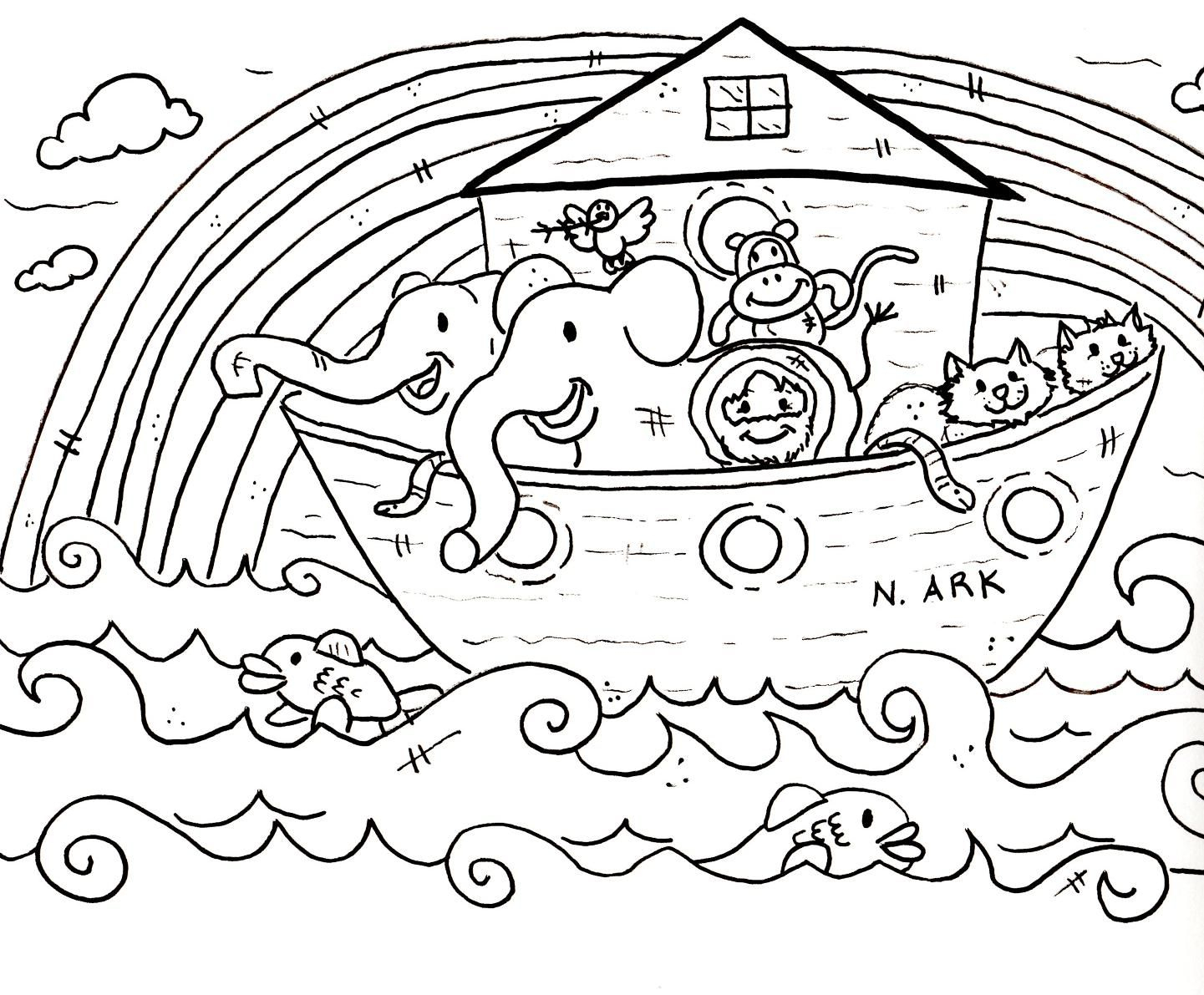 Children Coloring Pages For Church |  Sunday School Coloring - Free Printable Sunday School Coloring Sheets