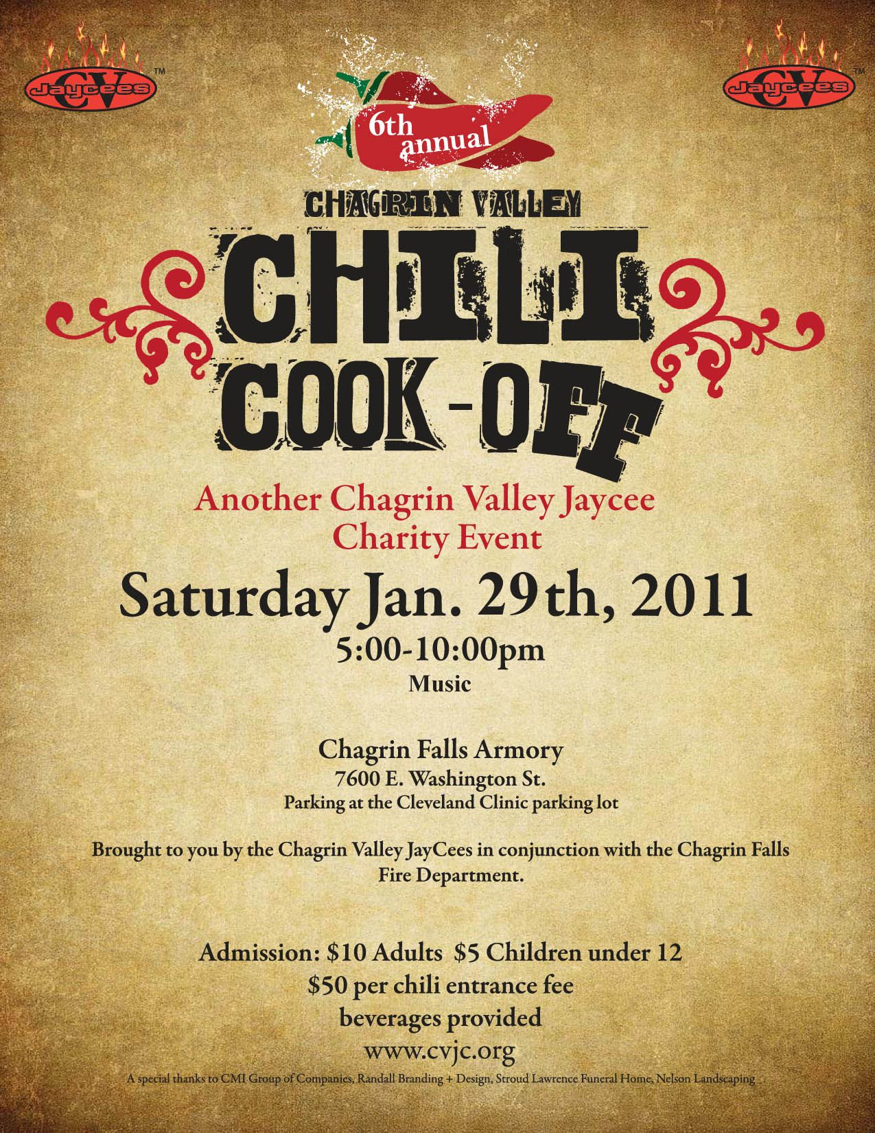 Chili Cook Off Flyer Template Free Printable - Wow - Image - Free Printable Flyers For Church