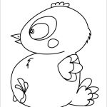 Chocolate Baby Chick Coloring Pages   Hellokids   Free Printable Easter Baby Chick Coloring Pages