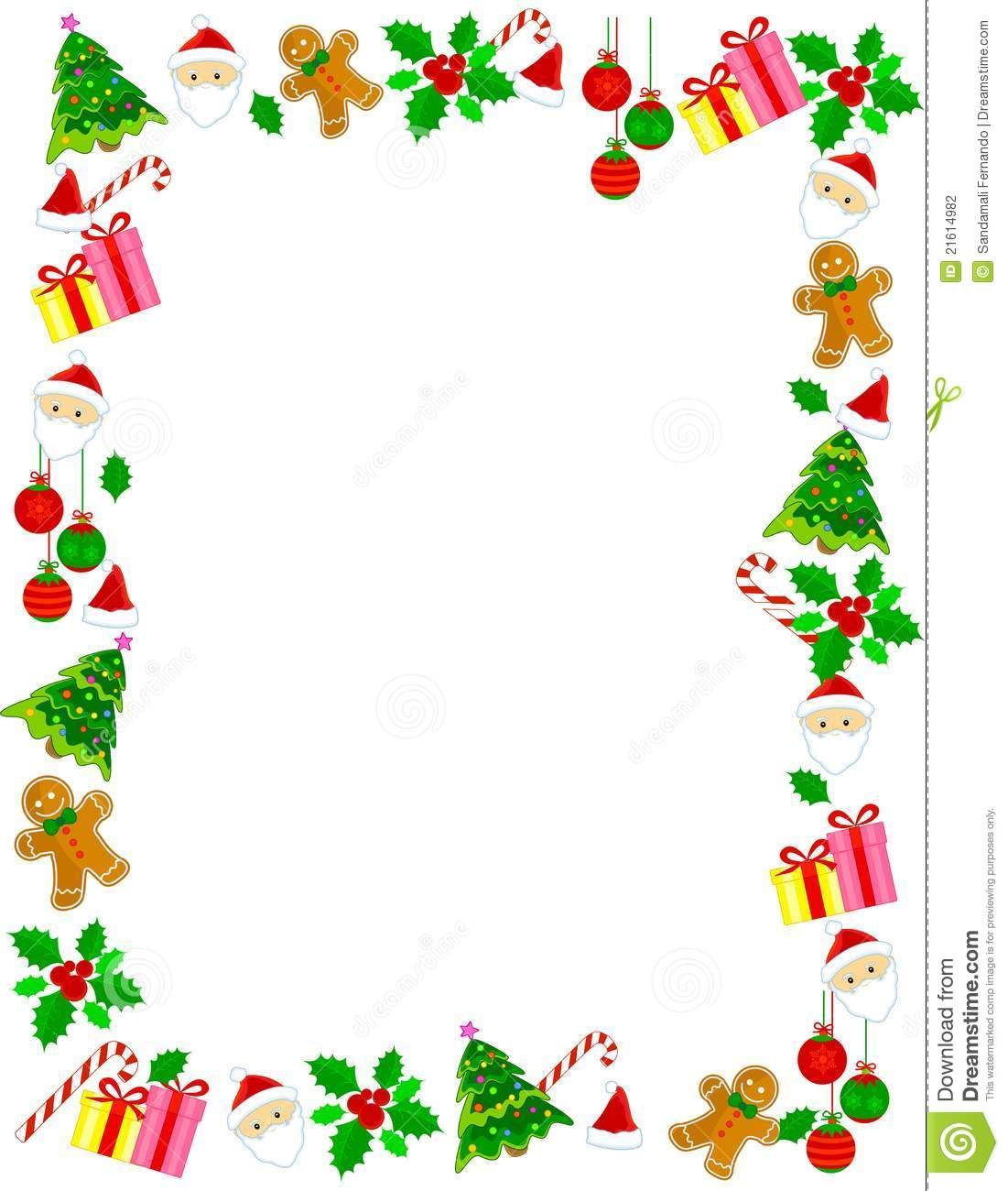 Christmas Border / Frame - Download From Over 50 Million High - Free Printable Christmas Frames And Borders