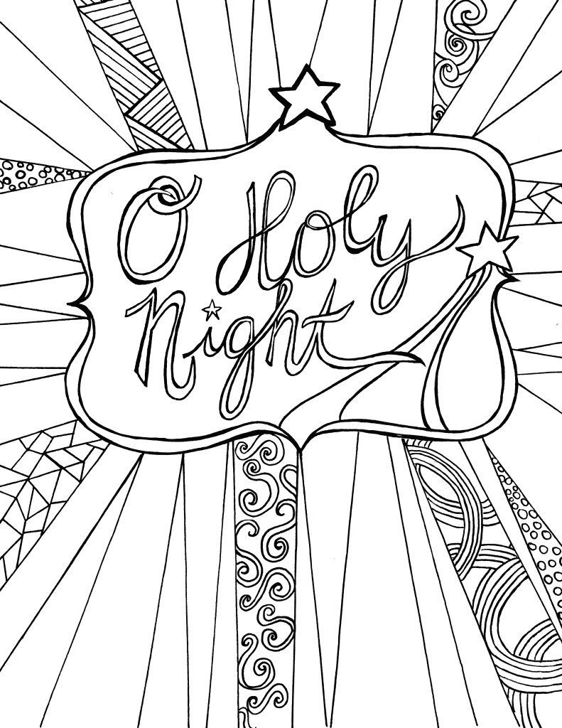 Christmas Coloring Pages | Home - Look Who's Coloring - Free Printable Bible Christmas Coloring Pages