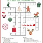 Christmas Crossword Puzzle Printable   Thrifty Momma's Tips | Free   Free Printable Christmas Puzzle Games