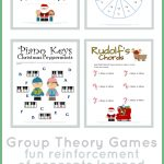 Christmas Music Theory Worksheets   20+ Free Printables   Free Printable Group Games