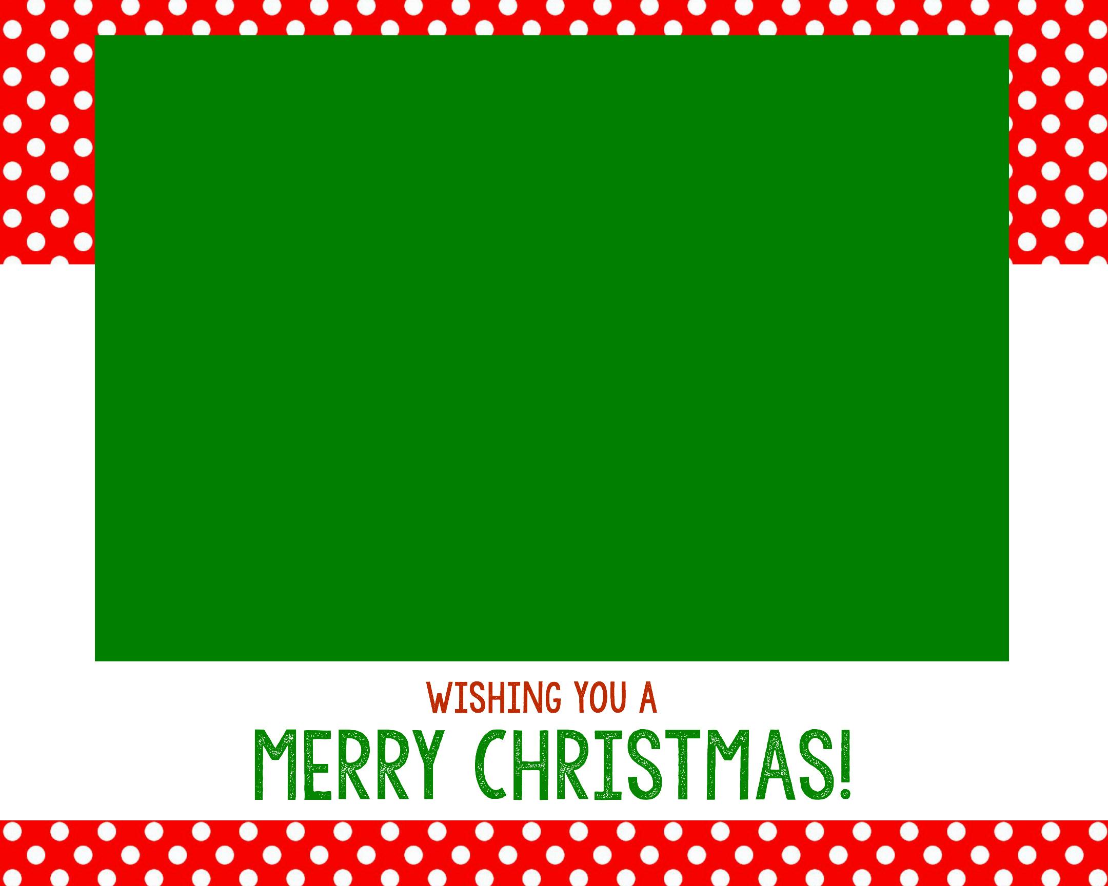 Christmas Photo Card Templates | Texas Vet - Free Online Christmas Photo Card Maker Printable