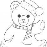 Christmas Teddy Bear Coloring Page | Free Printable Coloring Pages   Teddy Bear Coloring Pages Free Printable