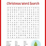 Christmas Word Search Free Printable For Kids Or Adults – Free Printable Christmas Puzzle Sheets