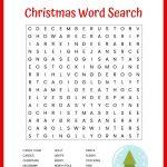 Christmas Word Search Free Printable For Kids Or Adults – Free Printable Christmas Puzzle Sheets