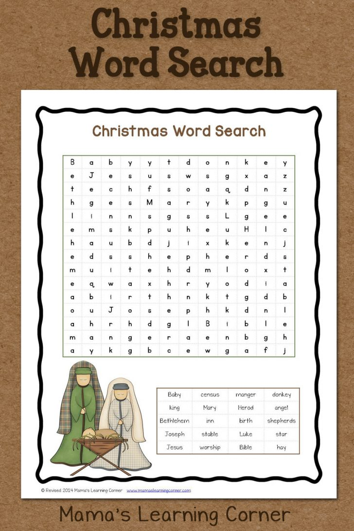 Christian Word Search Puzzles Free Printable