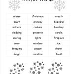 Christmas Worksheets And Printouts   Free Printable Holiday Worksheets
