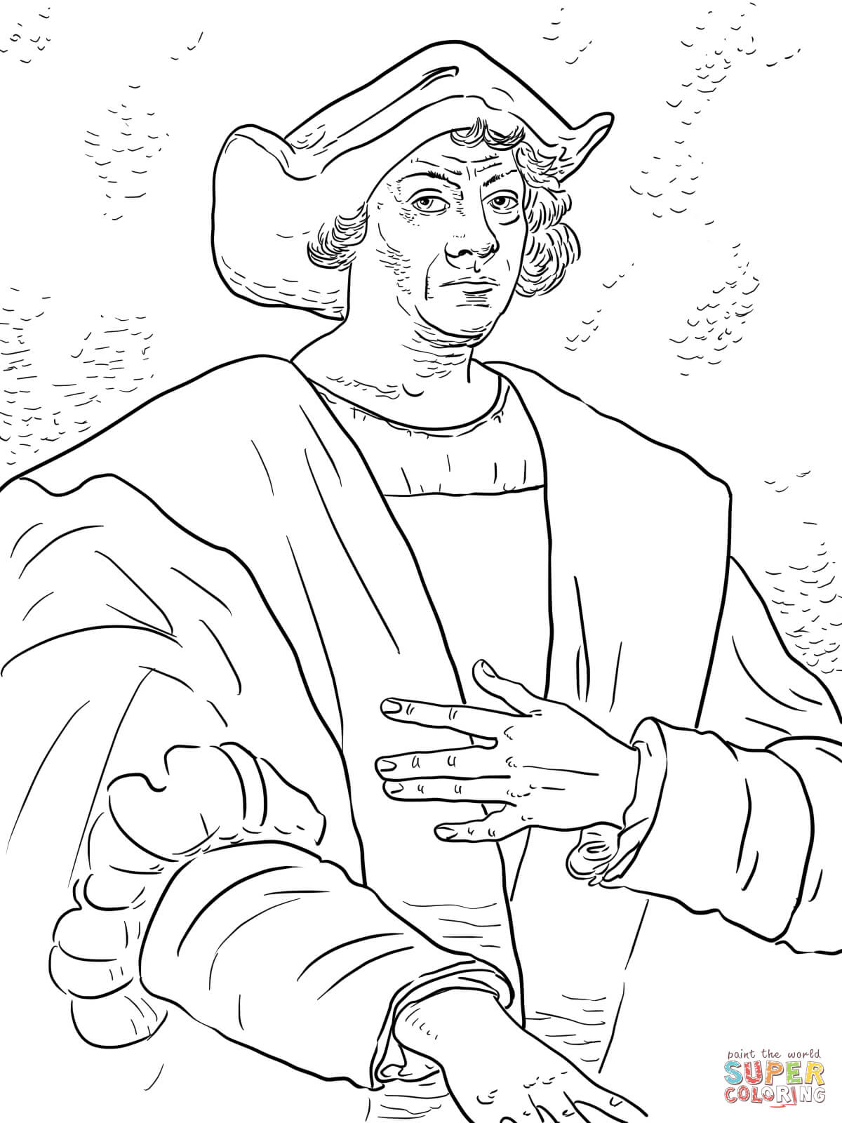 Christopher Columbus Coloring Page   Free Printable Coloring Pages - Free Printable Christopher Columbus Coloring Pages
