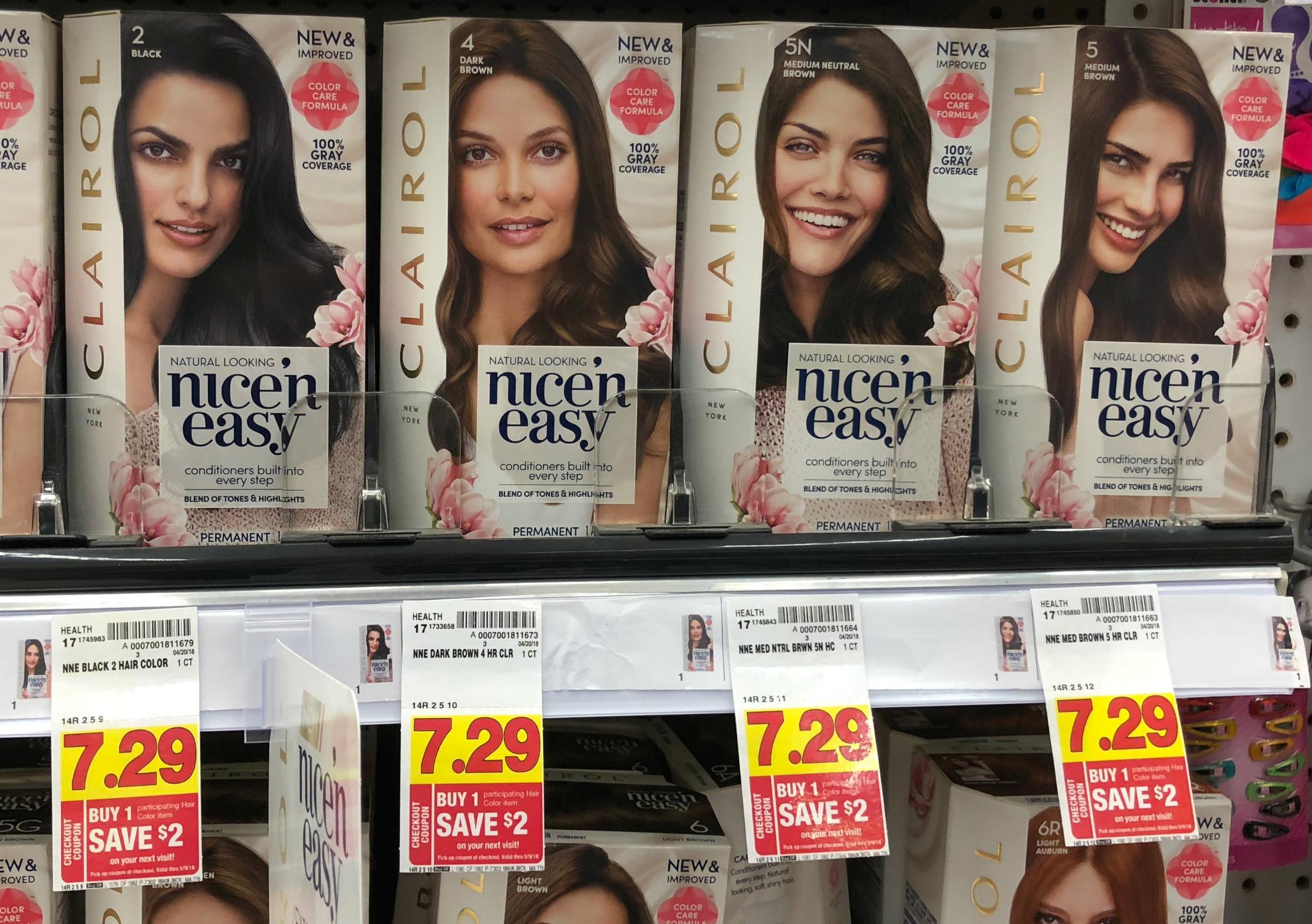 Clairol Nice 'n Easy Hair Color As Low As Free At Kroger (Reg $7.29 - Free Hair Dye Coupons Printable
