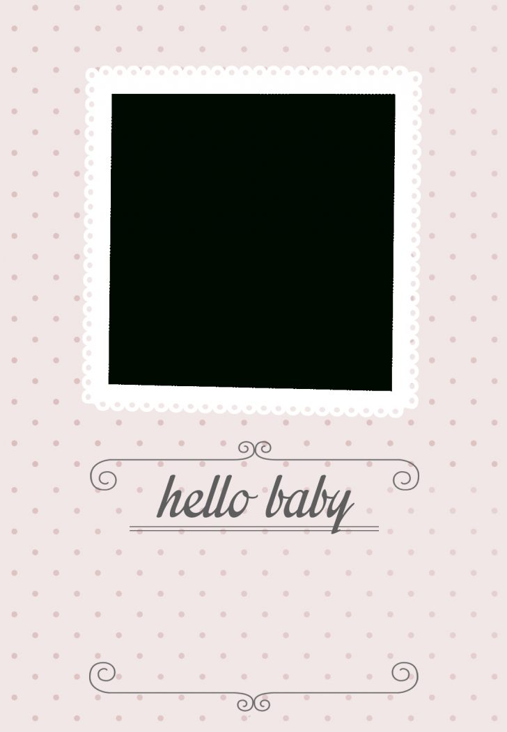 Free Printable Baby Announcement Templates