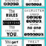 Classroom Posters For Every Teacher (Light Bulbs And Laughter) | Ese   Free Printable Posters For Teachers