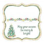 Coconut Cashews Plus Free Christmas Treat Bag Toppers Printables – Free Printable Bag Toppers