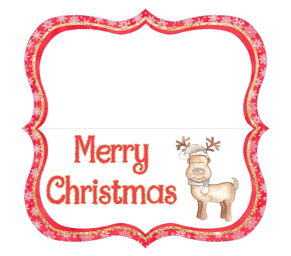 Coconut Cashews Plus Free Christmas Treat Bag Toppers Printables - Free Printable Christmas Bag Toppers