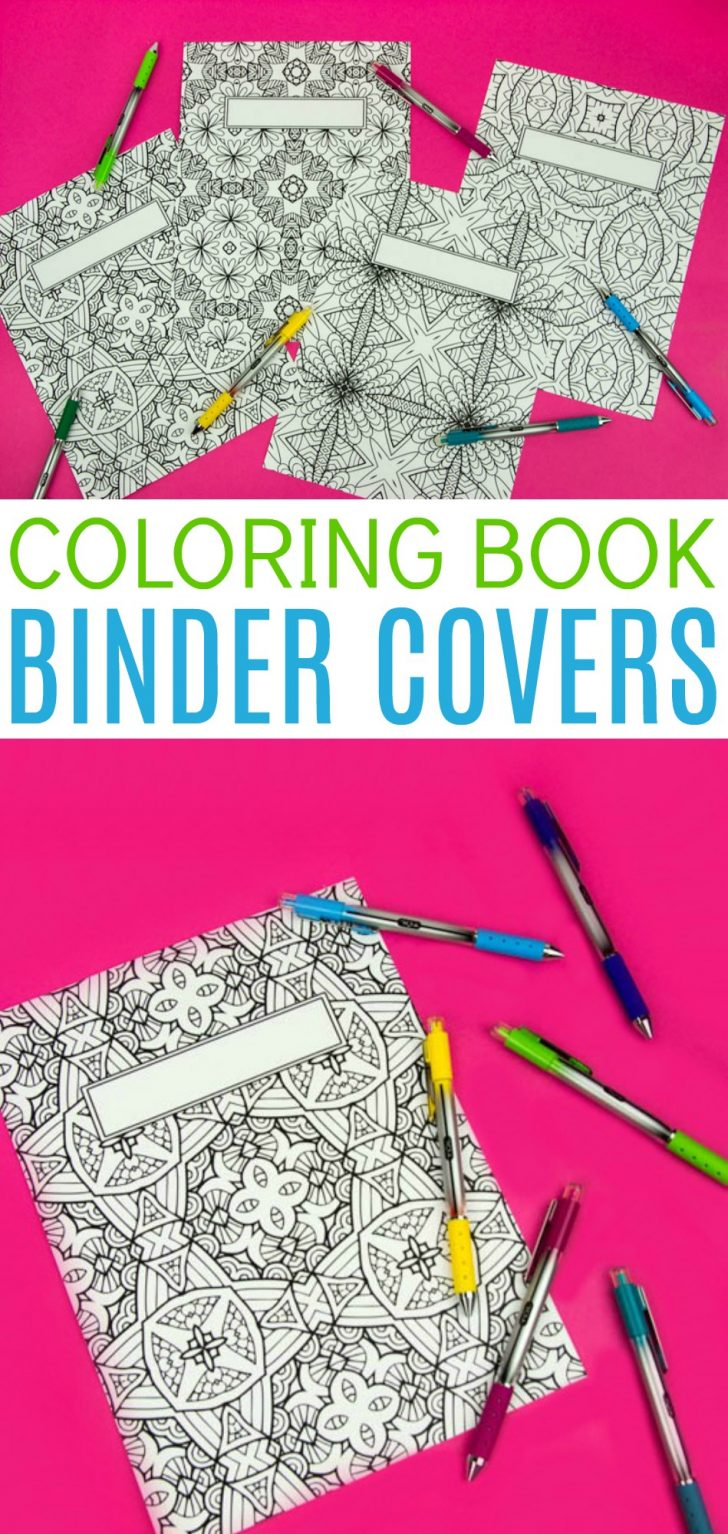 Free Printable Binder Covers To Color