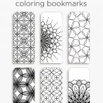 Coloring Bookmarks – Print, Color And Read | Hanna Nilsson Design   Free Printable Bookmarks Templates