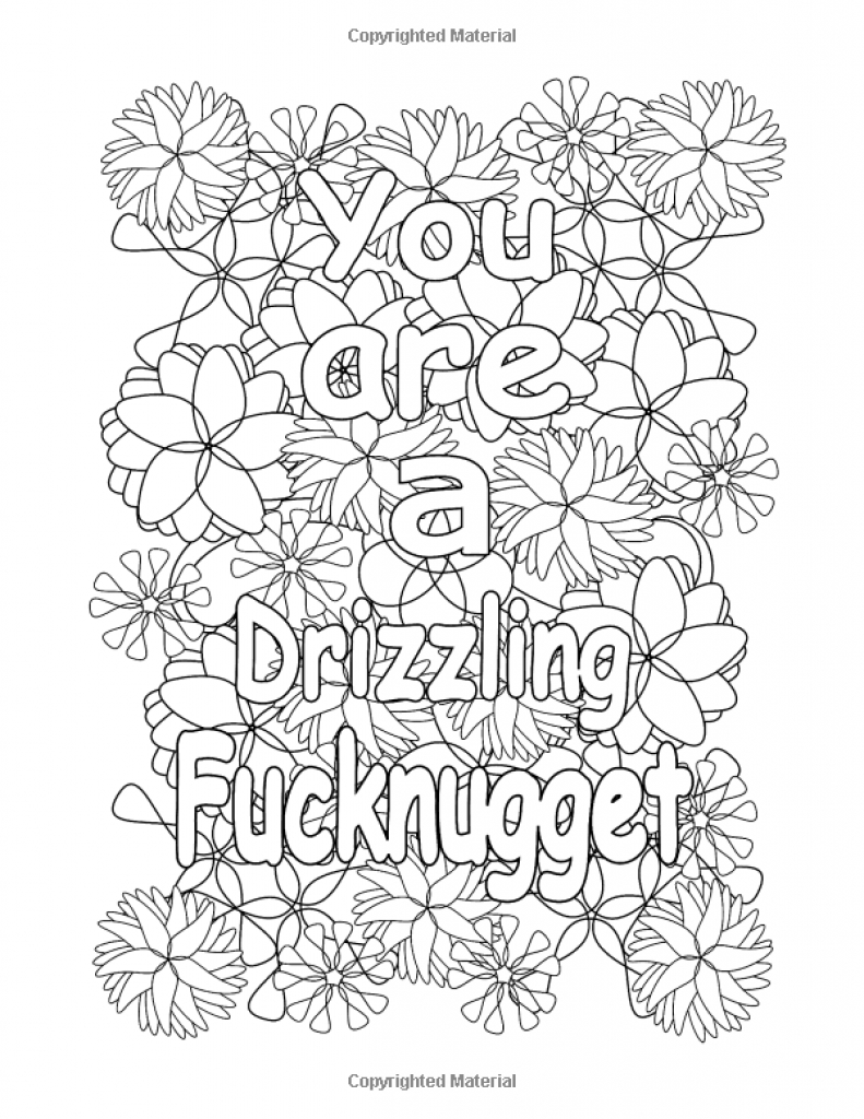 Coloring Pages : Amazing Curse Word Coloring Pages Image Ideas Free - Free Printable Swear Word Coloring Pages