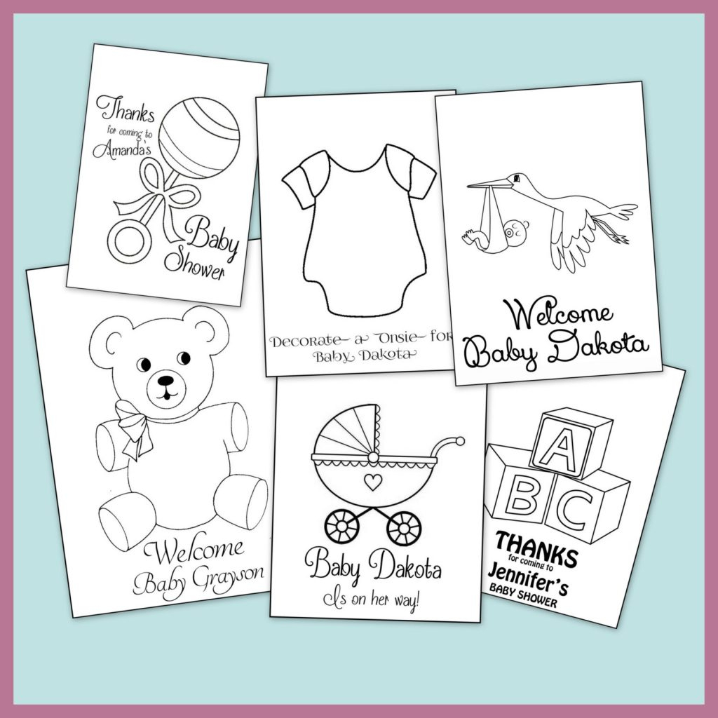 Coloring Pages ~ Baby Shower Coloring Pages Best Ofrsonalized Book - Free Printable Baby Shower Coloring Pages