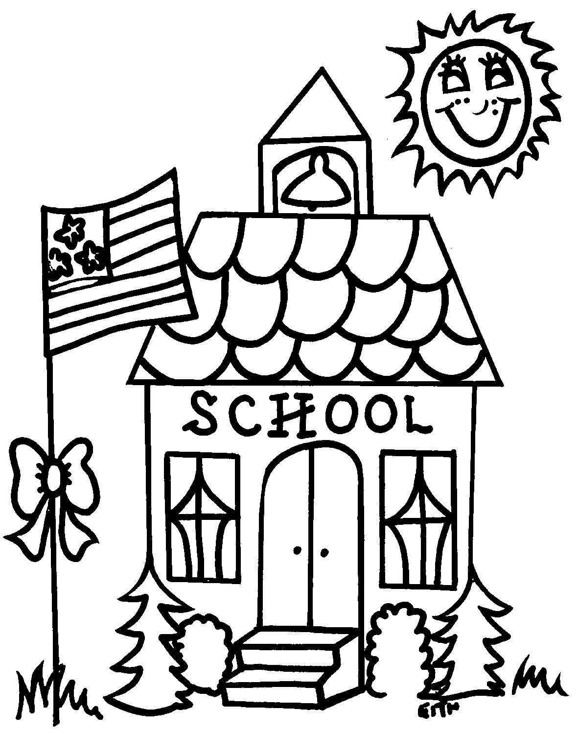 Coloring Pages : Back To School Coloring Pages Free Free Coloring - Back To School Free Printable Coloring Pages