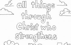 Free Printable Bible Coloring Pages With Scriptures