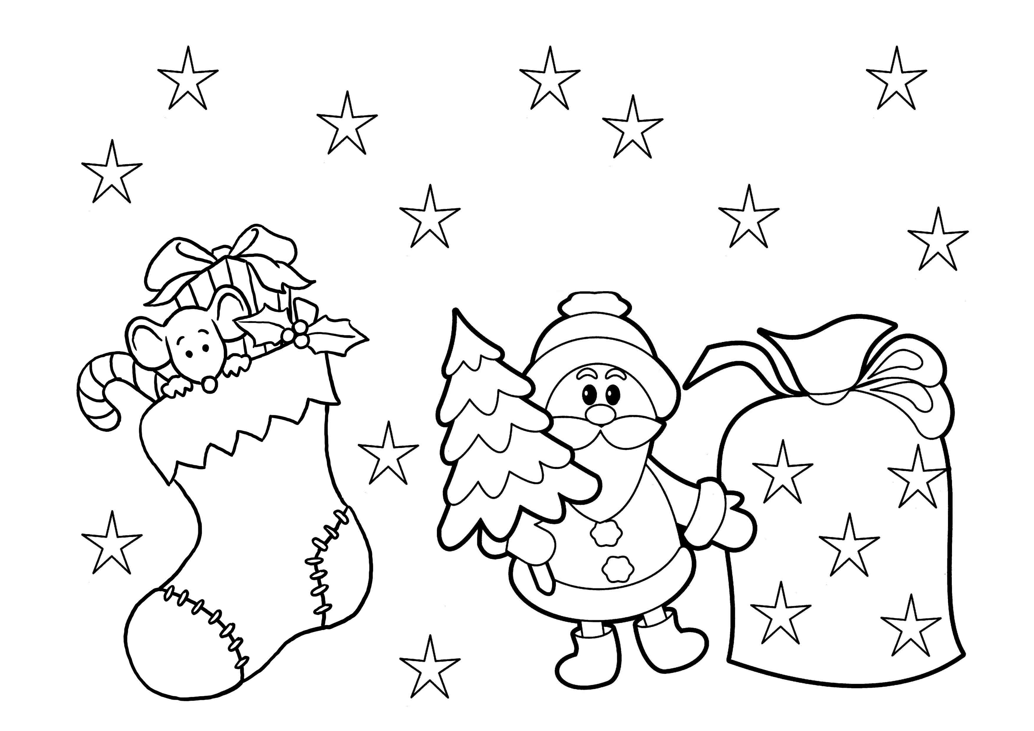 Coloring Pages : Christmas Coloring Sheets For Preschool Pages Print - Free Printable Color Sheets For Preschool
