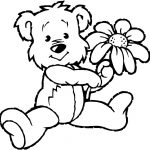Coloring Pages : Coloring Book Teddy Bear Fantastic For Toddlers   Teddy Bear Coloring Pages Free Printable