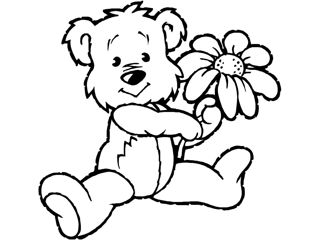 Coloring Pages : Coloring Book Teddy Bear Fantastic For Toddlers - Teddy Bear Coloring Pages Free Printable