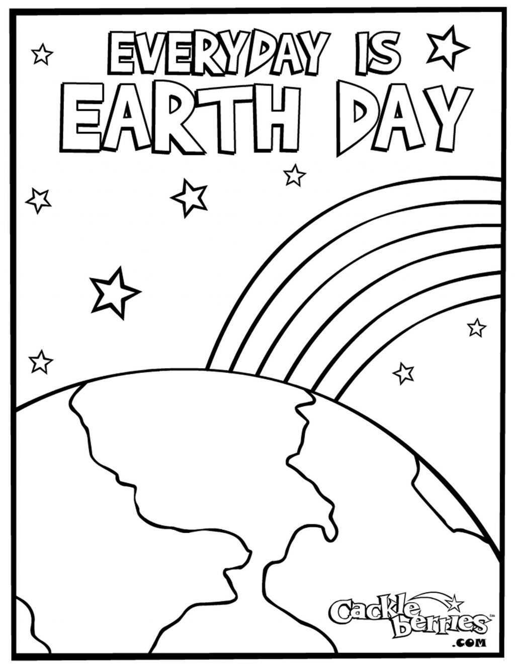 Coloring Pages ~ Coloring Pages Earth Day Printable With Trees - Free Printable Earth Pictures