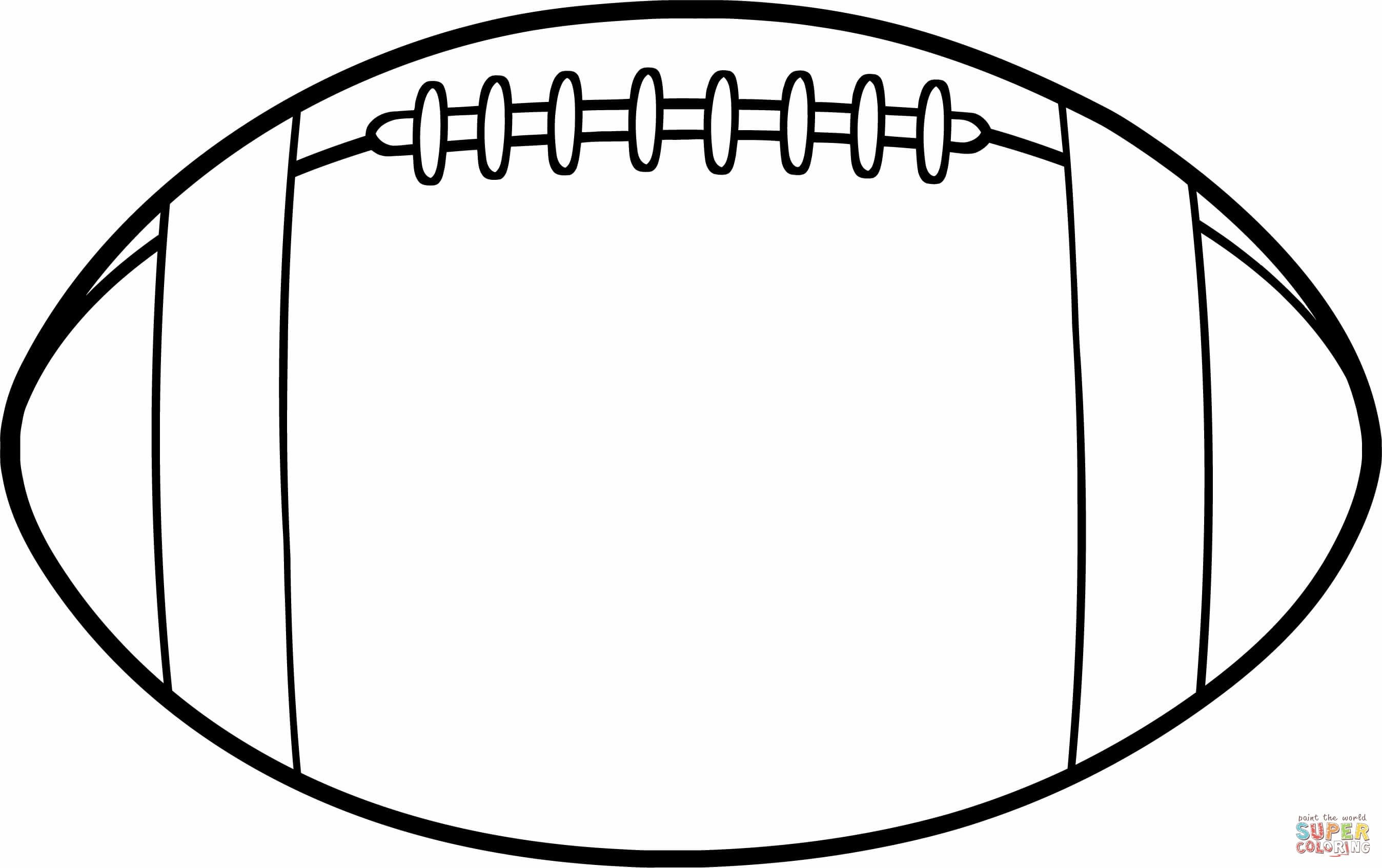 Coloring Pages : Coloring Pages Free Online Football Printable - Free Printable Football Templates