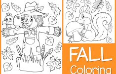 Coloring Pages : Coloring Pages Free Printable Fall Fabulous - Free Fall Printable Coloring Sheets