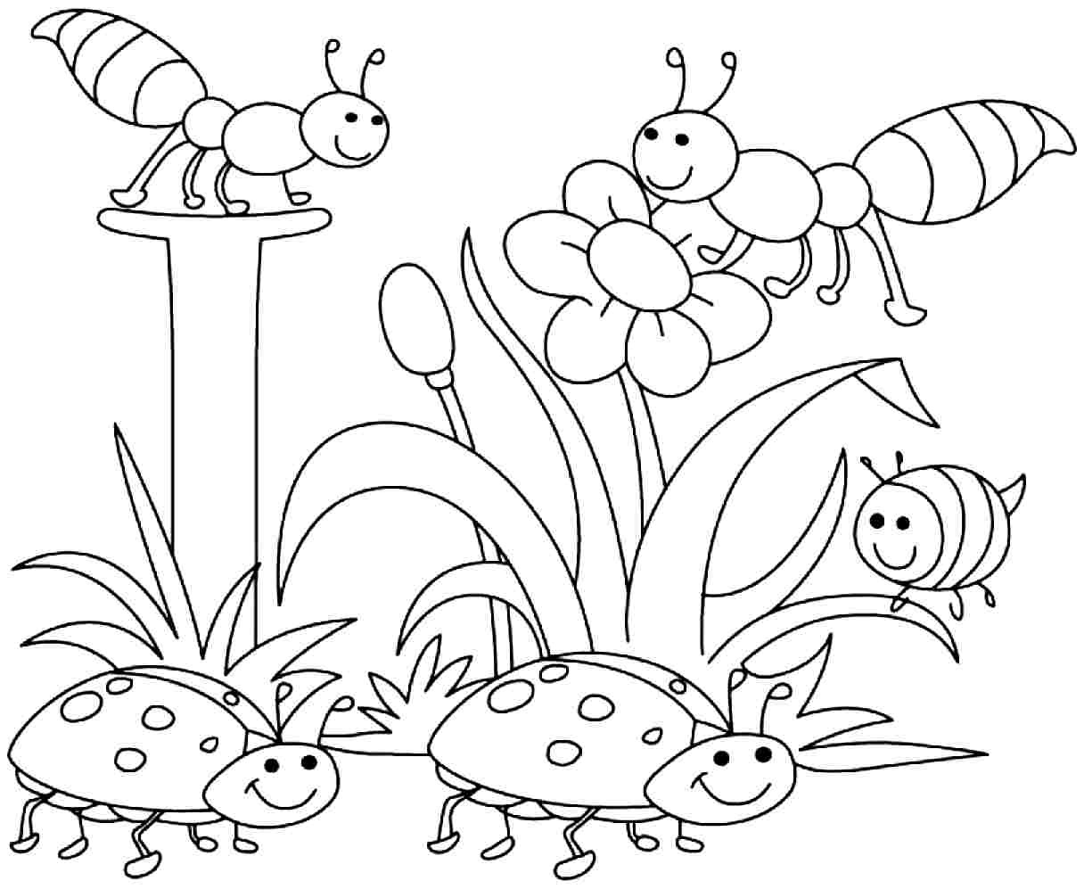 Coloring Pages : Coloring Pages Pi5Rkjqbt Spring For Kids Fabulous - Spring Coloring Sheets Free Printable