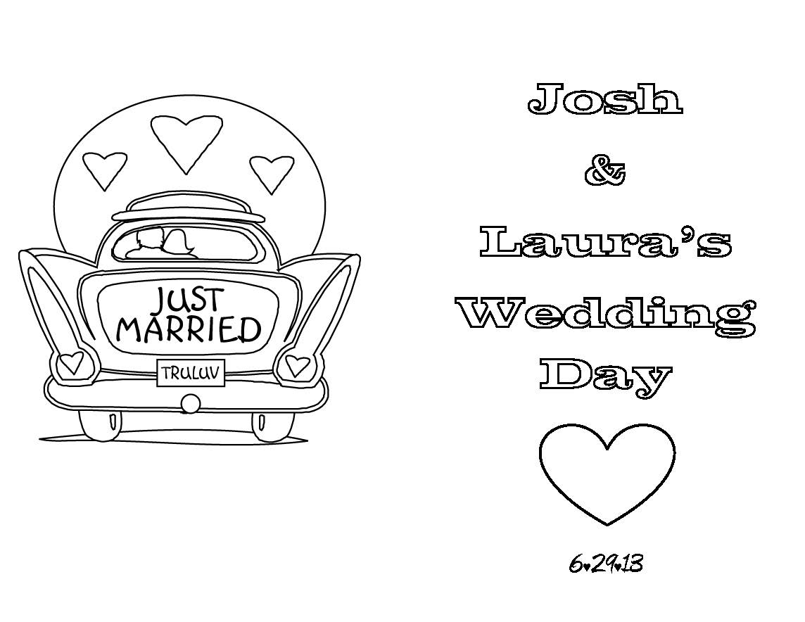 Coloring Pages : Coloring Pages Uncategorized Wedding Books For Kids - Free Printable Personalized Wedding Coloring Book