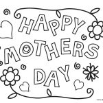 Coloring Pages : Colorings Mothers Day Image Ideas Printable For   Free Printable Mothers Day Coloring Cards
