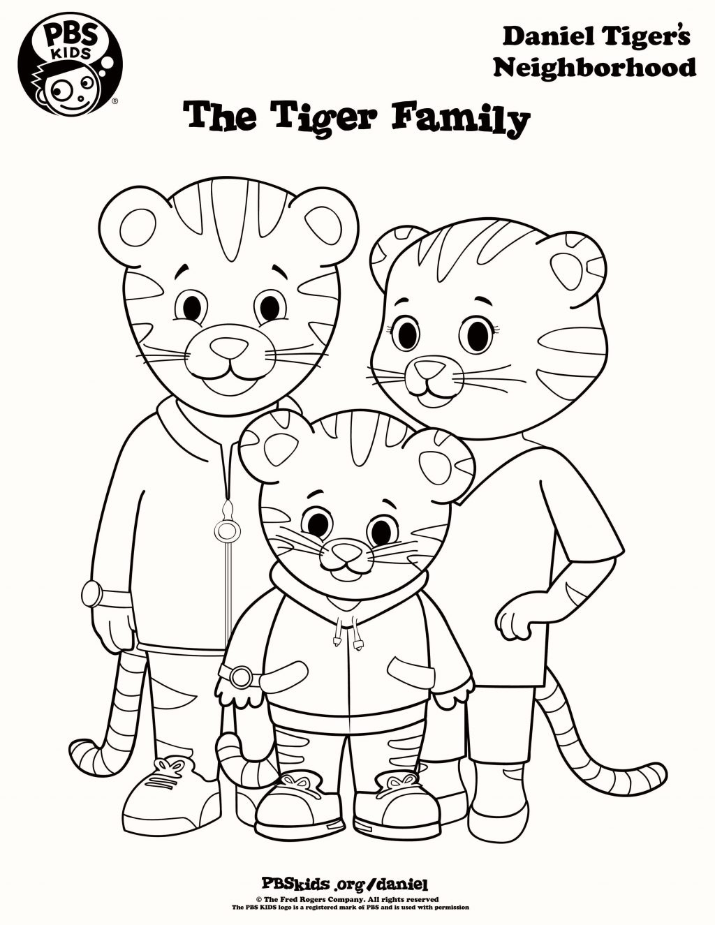Coloring Pages ~ Daniel Tiger Coloring Pages Printable Elena New - Free Printable Daniel Tiger Coloring Pages