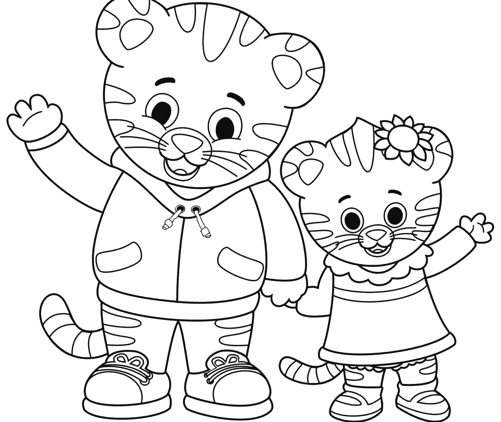 Coloring Pages ~ Daniel Tigerng Pages Elegant Free Page Printable - Free Printable Daniel Tiger Coloring Pages