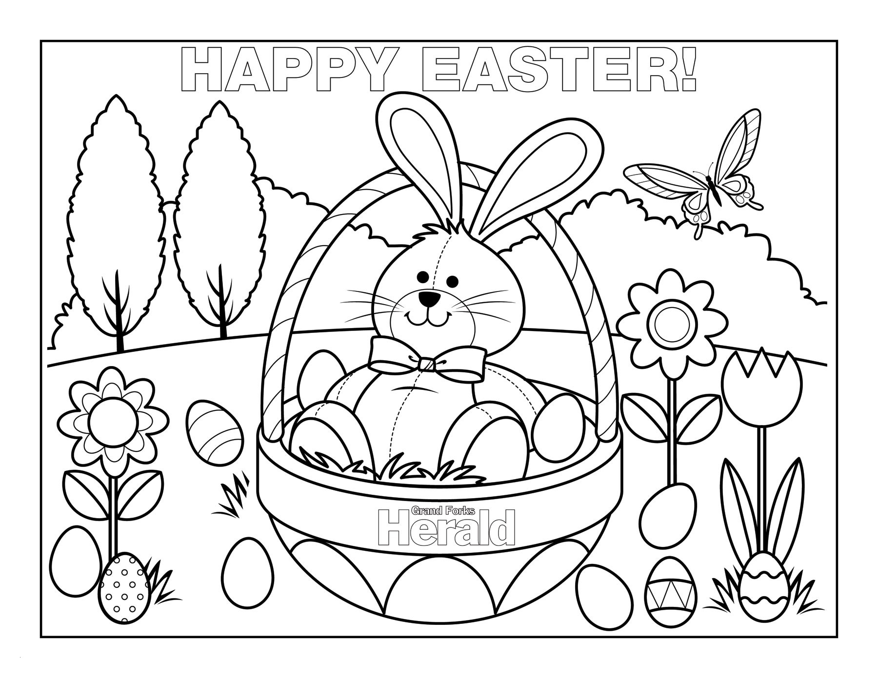 Coloring Pages Easter Printable Best Of Free Printable Easter - Free Printable Easter Coloring Pictures
