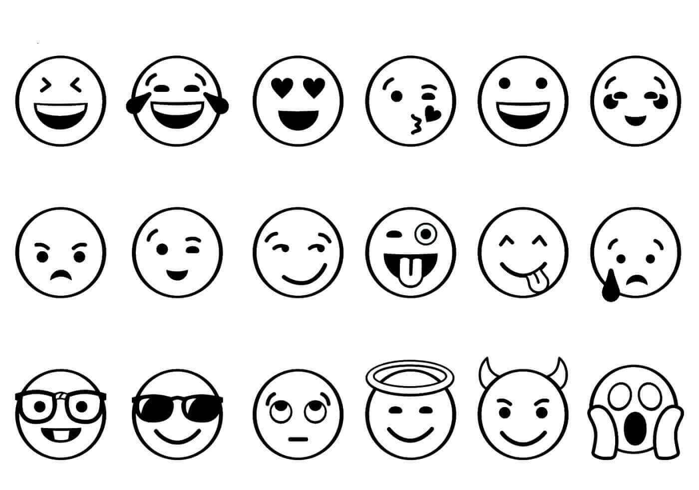 Coloring Pages ~ Emojing Pages Free Printable Sped Incredible Online - Free Printable Emoji Faces