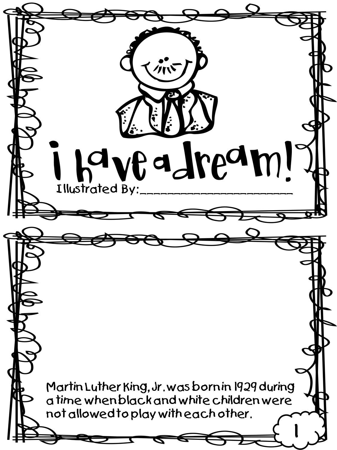 Coloring Pages ~ Fantastic Martin Luther King Jr Coloring Page - Martin Luther King Free Printable Coloring Pages