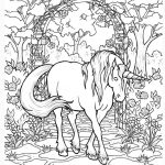Coloring Pages For Adults Only | Unicorn Coloring Page*tablynn   Free Printable Unicorn Coloring Pages